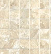 Bedrosians Classic Porcelain Beige Matte Mosaic Tile