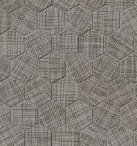 Bedrosians Dagny Hexagon Gray Porcelain Mosaic Tile