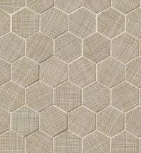 Bedrosians Dagny Hexagon Beige Porcelain Mosaic Tile