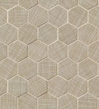Bedrosians Dagny Hexagon Porcelain Matte Mosaic Tile