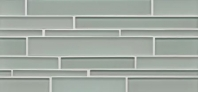 Bedrosians Hamptons Surf Linear Interlocking Glass Tile