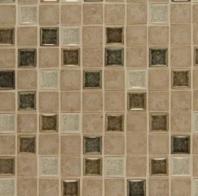 Bedrosians DECKISBLI11B- Kismet Stone Crackle Glazed Mosaic Tile