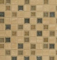 Bedrosians DECKISFEL11B Kismet Stone Crackle Glazed 12x12 Mosaic Tile