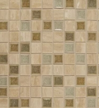 Bedrosians DECKISSER11B- Kismet Stone Crackle Glazed 12x12 Mosaic Tile