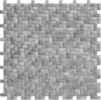 Summer Outing Series Optimum Grey Basketweave Mosaic SMO323