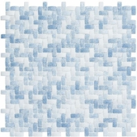Summer Outing Series Denim Wash Basketweave Mosaic SMO324