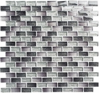 Metro Series Lucas Midnight Stacked Mosaic MTR3342