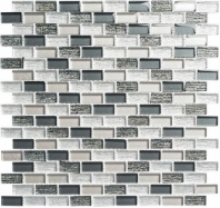 Metro Series Jules Charcoal Stacked Mosaic MTR3343