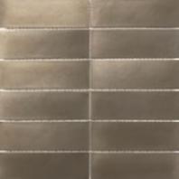 Anatolia 2x6 Stacked Mosaic Stainless Steel AC79-160