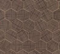 Lido Maroon Hexagon Tile TCRLID221HEXM