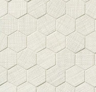 Lido White Hexagon Tile TCRLID221HEXW