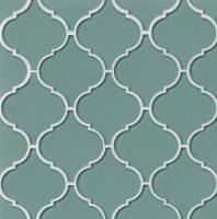 Mallorca Glass Sail Arabesque Tile GLSMALSAIARA