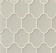 Mallorca Glass Mist Arabesque Tile GLSMALMISPAL