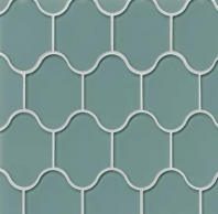 Mallorca Glass Sail Arabesque Tile GLSMALSAIPAL