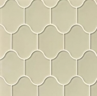Mallorca Glass Sand Arabesque Tile GLSMALSANPAL