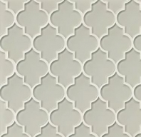 Mallorca Glass Mist Arabesque Tile GLSMALMISCAL