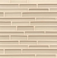 Manhattan Cashmere Interlocking Tile GLSMANCASRIGMC