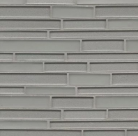 Manhattan Platinum Interlocking Tile GLSMANPLARIGMC