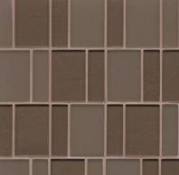 Manhattan Bittersweet Stacked Tile GLSMANBITBPGMC