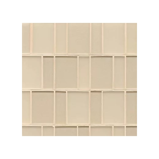 Manhattan Cashmere Stacked Tile GLSMANCASBPGMC