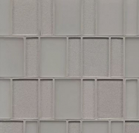 Manhattan Platinum Stacked Tile GLSMANPLABPGMC