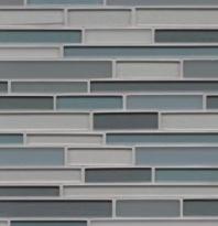 Manhattan Hudson Interlocking Tile GLSMANHUDRIGMCB