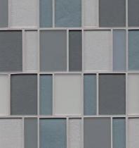 Manhattan Hudson Stacked Tile GLSMANHUDBPGMCB