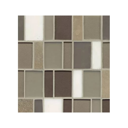 Manhattan MacArthur Stacked Tile GLSMANGRMBPSGMCB