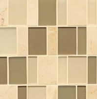 Manhattan Morningside Stacked Tile GLSMANMORBPSGMCB