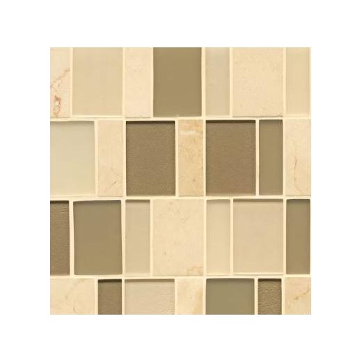 Manhattan Morningside Stacked Tile GLSMANMORBPSGMCB