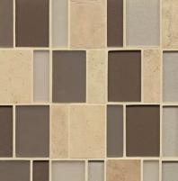 Manhattan Rockefeller Stacked Tile GLSMANROCBPSGMCB