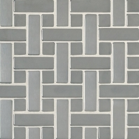 Metalica Random Mosaic Brushed Stainless Steel SS50