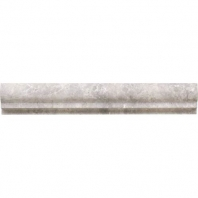 Limestone Siberian Tundra 2x12 Classic Chair Rail Honed L701