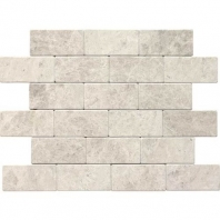 Limestone Arctic Gray 3x6 Subway Tile Tumbled L757