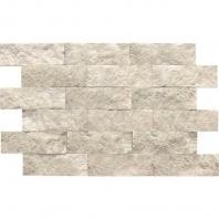 Limestone Arctic Gray 2x6 Split Face Mosaic L757