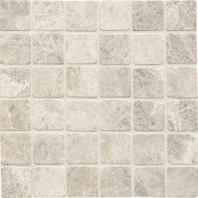 Limestone Arctic Gray 2x2 Mosaic Tumbled L757