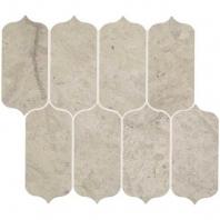 Limestone Volcanic Gray 11x13 Ingot Mosaic Honed L725