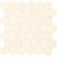 """Limestone Blavet Blanc 2"""" Hexagon Mosaic L340"""
