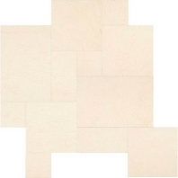 Limestone Adour Creme Large Pattern Leather L341