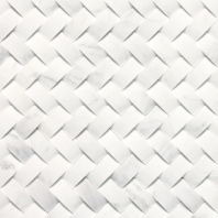 Stone A La Mode Contempo White Basketweave Honed M313