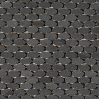 Stone A La Mode Urban Bluestone Oval Mosaic Polished L222