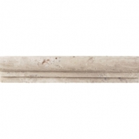Travertine Baja Cream 2 1/4x12 Chair Rail Honed T720