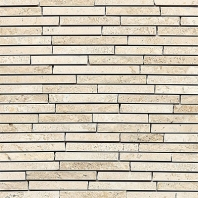 Travertine Baja Cream 3/8 Random Mosaic T720