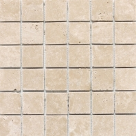 Travertine Torreon 2x2 Mosaic Tumbled T711