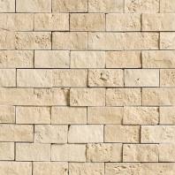 Travertine Torreon 1x2 Split Face Mosaic T711