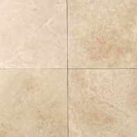 Travertine Mediterranean Ivory 12x12 Honed T730