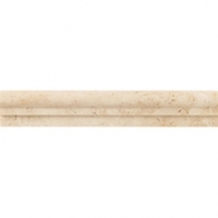 Travertine Mediterranean Ivory 2x12 Chair Rail Polished T730