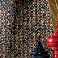 City Light Incienso Bangkok 1/2 x 1/2 Penny Round Mosaic CL85