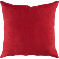 Surya Solid Throw Pillow- Storm ZZ-407