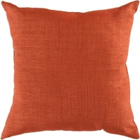 Surya Solid Throw Pillow- Storm ZZ-431
